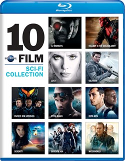 Universal 10-Film Sci-Fi Collection [Blu-ray]