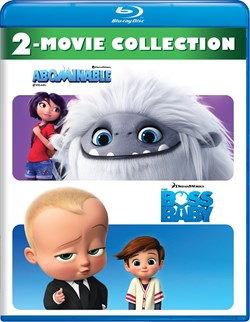 Abominable/The Boss Baby [Blu-ray]