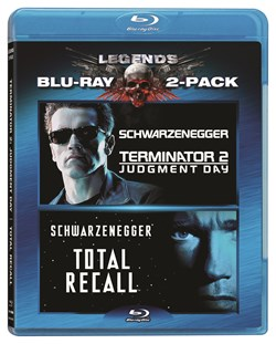 Terminator 2 - Judgement Day/Total Recall [Blu-ray]