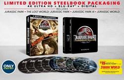 Jurassic World: 5-movie Collection (4K Ultra HD + Blu-ray (Steelbook)) [Blu-ray]