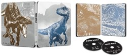 Jurassic World - Fallen Kingdom (with DVD Steelbook) [Blu-ray]