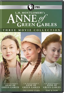 L.M. Montgomery's Anne of Green Gables: Three-Movie Collection [DVD]