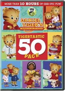 Daniel Tiger's Neighborhood: Tigertastic 50 Pack [DVD]