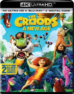 The Croods 2 - A New Age (4K Ultra HD + Blu-ray) [UHD]