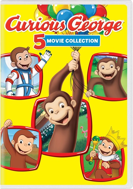 Curious George 5-movie Collection (Box Set) [DVD]