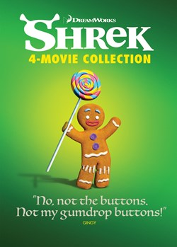 Shrek: The 4-movie Collection (Anniversary Edition) [DVD]