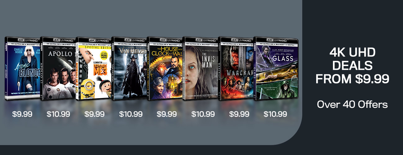 1300x500 New 4K UHD Deals From $9.99
