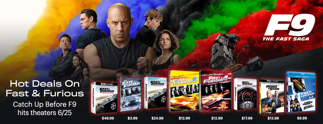 1300x500 Hot Deals on Fast and Furious