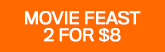 165x52 Movie Feast 2 DVDs For $8