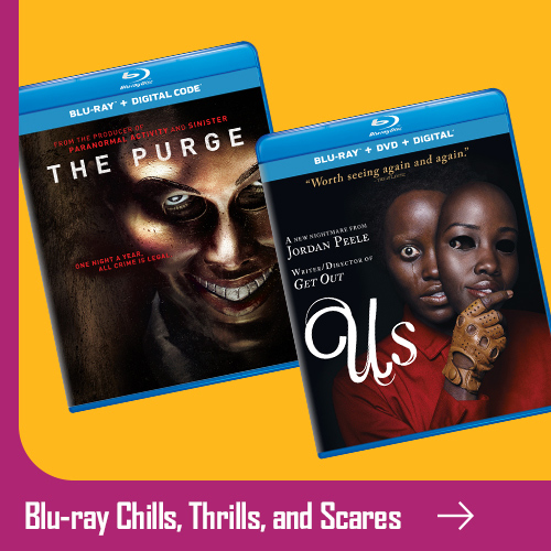 Blu-ray Chills, Thrills, Scares