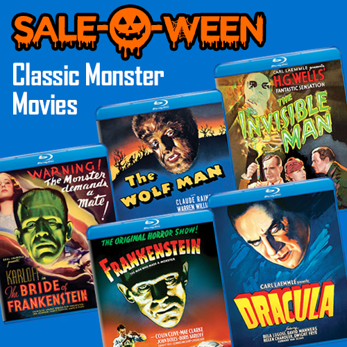 Sale O Ween Classic Monster Movies