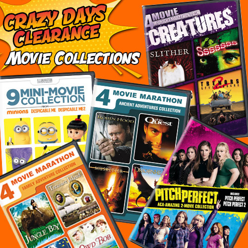 Crazy Days Clearance - Movie Collections