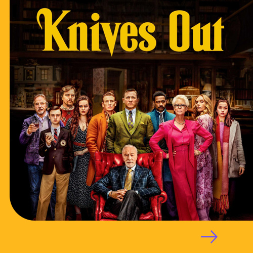 Knives Out Small Banner