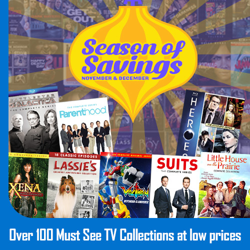Season of Savings Over 100 TV