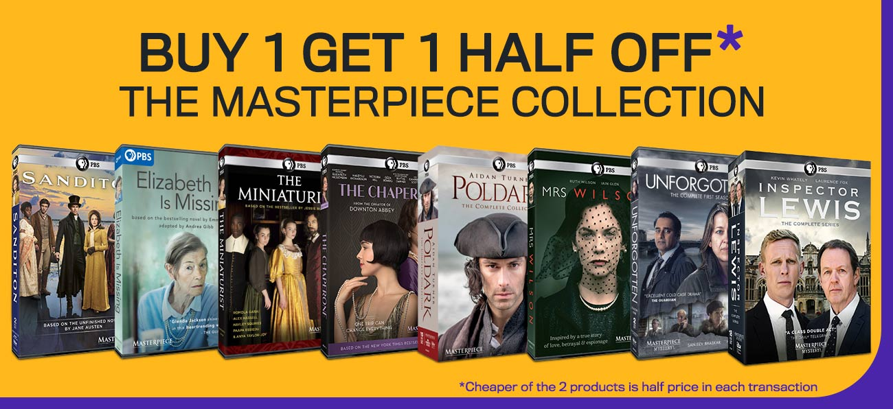 The Masterpiece Collection - Buy 1 Get 1 Half Off
