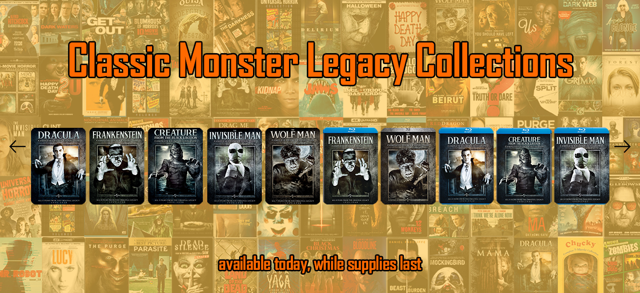 Classic Monster Legacy Collections