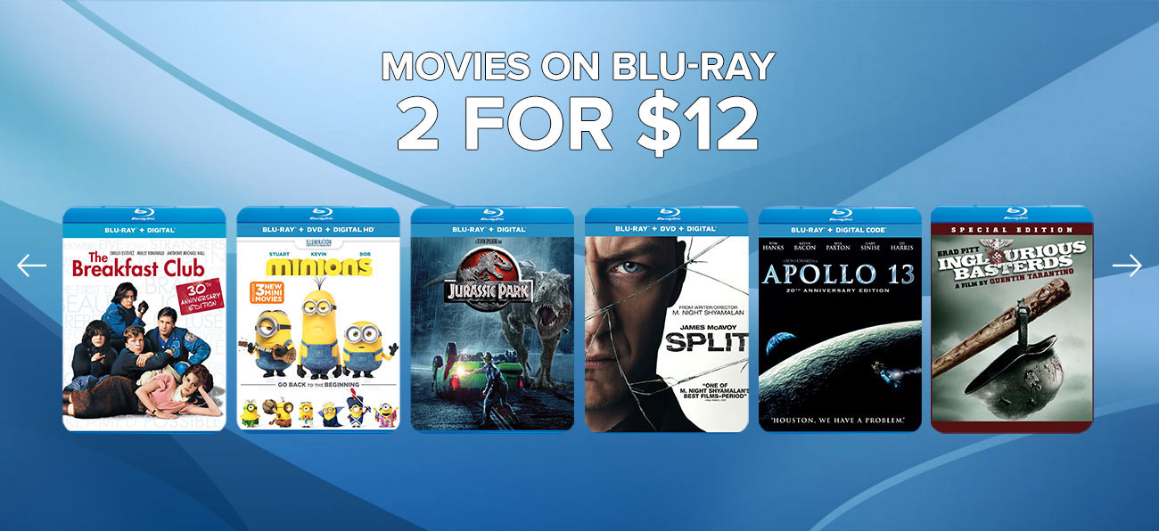 Movies On Blu-ray