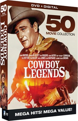 Cowboy Legends: 50 Movie Collection [DVD]