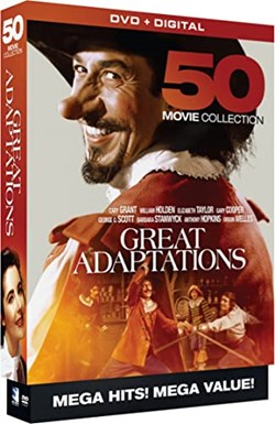 Great Adaptations - 50 Movie MegaPack - DVD+Digital [DVD]