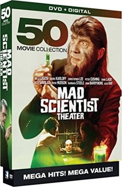 Mad Scientist Theatre - 50 Movie MegaPack - DVD+Digital [DVD]