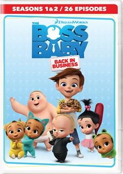 The Boss Baby - Back in Business: Season 1-2 (Box Set) [DVD]