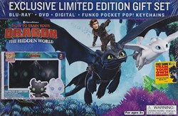 How to Train Your Dragon - The Hidden World (with DVD) [Blu-ray]