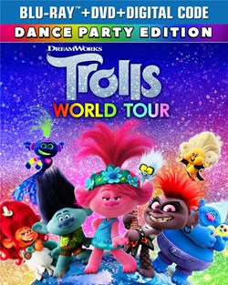 Trolls World Tour (with DVD) [Blu-ray]