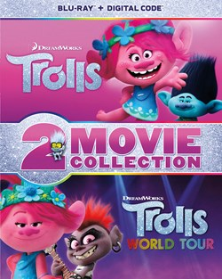 Trolls/Trolls World Tour [Blu-ray]