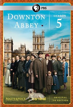 Masterpiece: Downton Abbey - Season 5 [DVD]
