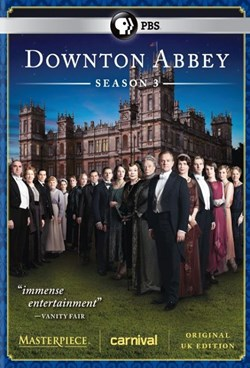 Masterpiece: Downton Abbey - Season 3 [DVD]