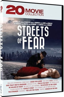 Streets of Fear: 20 Movie Collection [DVD]