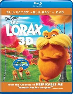 The Lorax 3D (DVD + Digital) [Blu-ray]