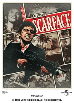 Scarface Limited Edition Steelbook (with DVD) [Blu-ray]
