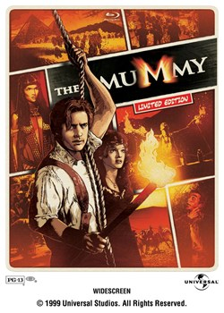 The Mummy - Limited Edition Steelbook (Blu-ray with DVD) [Blu-ray]