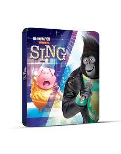 Sing (4K Ultra HD + Blu-ray (Steelbook)) [Blu-ray]