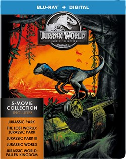 Jurassic World: 5-movie Collection (Limited Edition Steelbook) [Blu-ray]