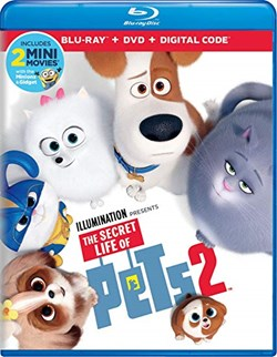The Secret Life of Pets 2 (with DVD) [Blu-ray]