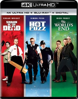 Shaun of the Dead/Hot Fuzz/The World's End (4K Ultra HD) [UHD]
