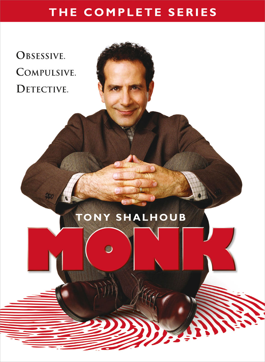 Monk: Complete Series [DVD]
