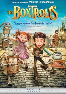 The Boxtrolls [DVD]