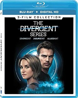 Divergent/Insurgent/Allegiant (Box Set with Digital Download) [Blu-ray]