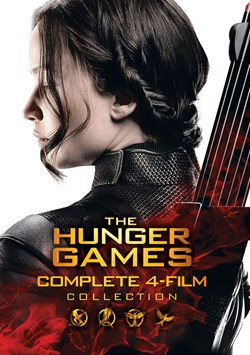 Hunger Games Complete 4 Film Collection-  DVD [DVD]