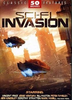 Sci-Fi Invasion - 50 Movie Set [DVD]